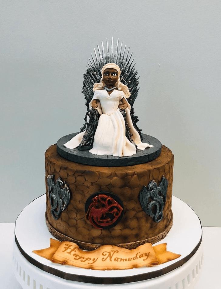 Fair Game of Thrones Cake