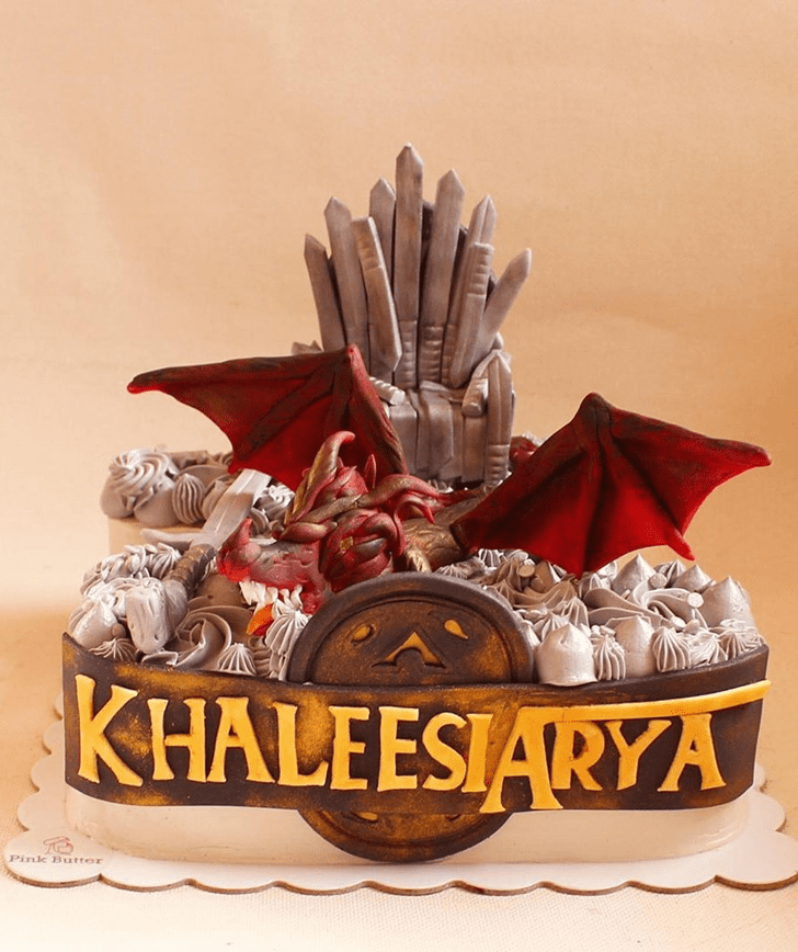 Fetching Game of Thrones Cake