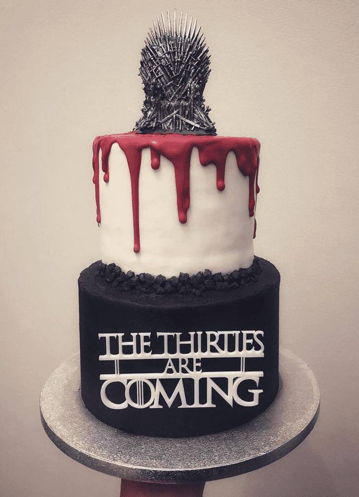 Fine Game of Thrones Cake