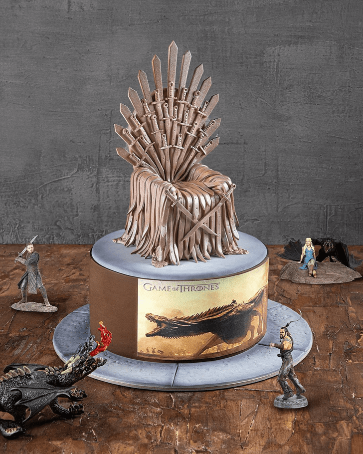 Good Looking Game of Thrones Cake