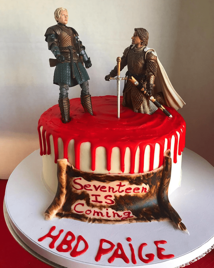 Grand Game of Thrones Cake
