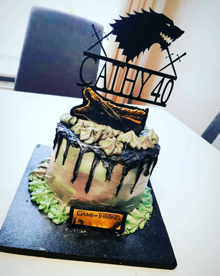 Handsome Game of Thrones Cake