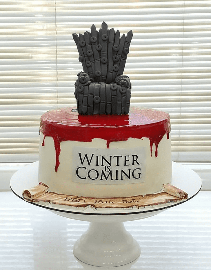 Ideal Game of Thrones Cake