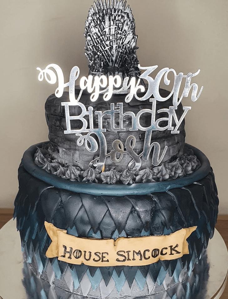 Inviting of Thronesing Game of Thrones Cake