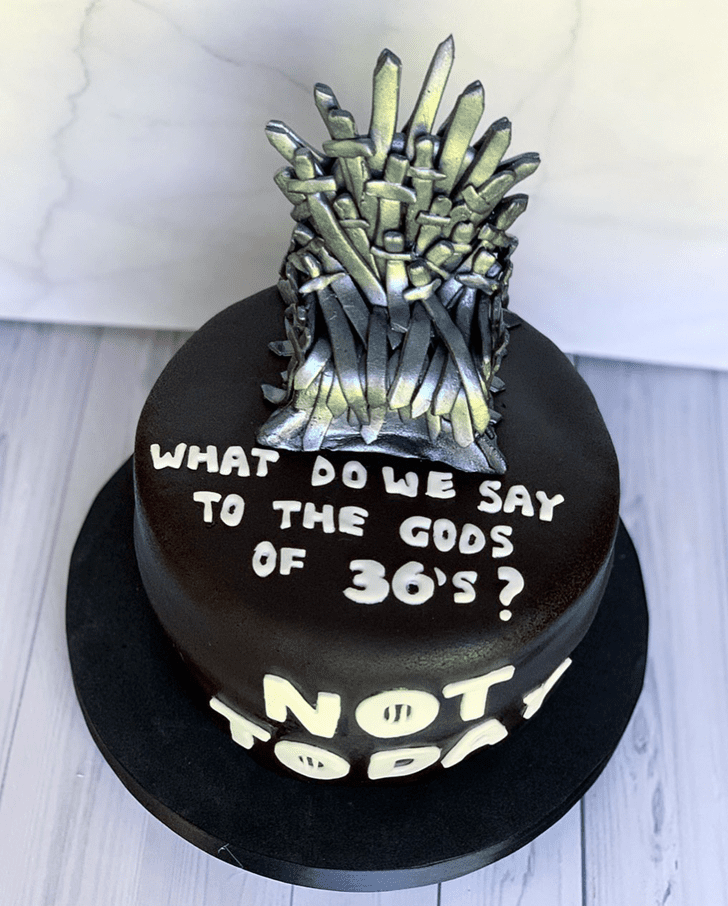 Magnetic Game of Thrones Cake