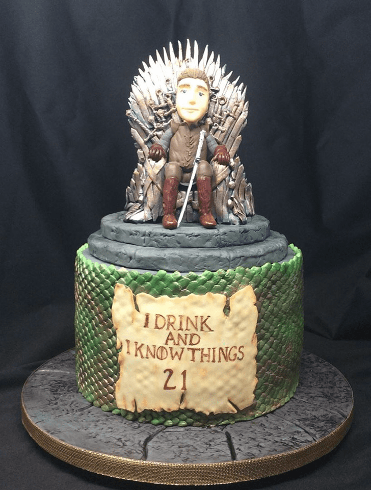 Nice Game of Thrones Cake