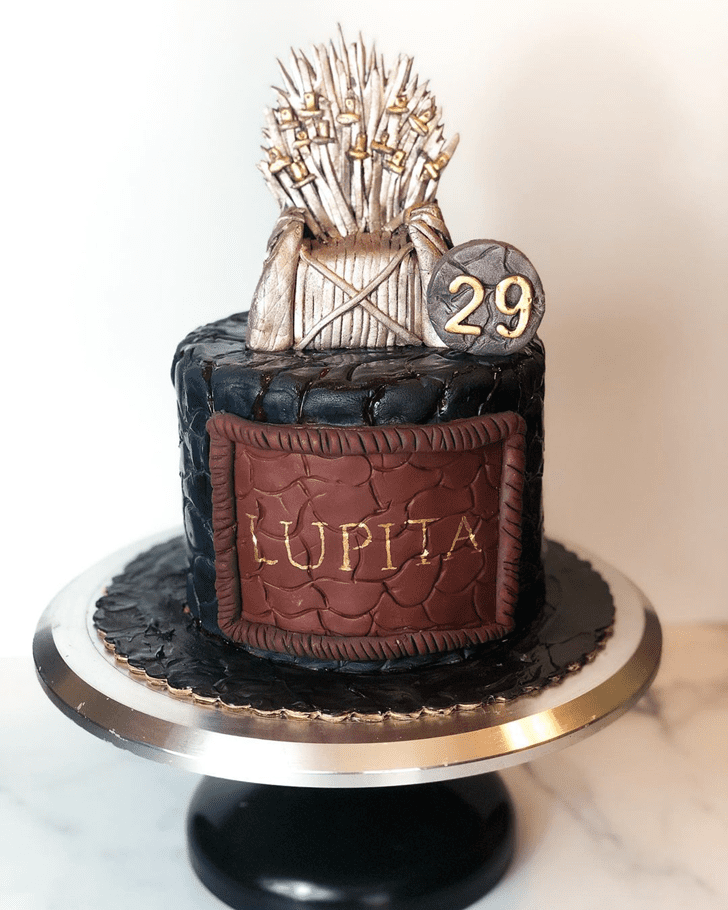 Pretty Game of Thrones Cake