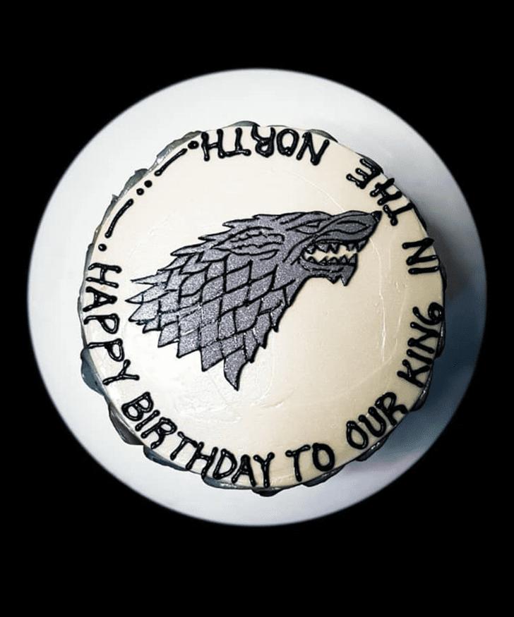 Resplendent Game of Thrones Cake