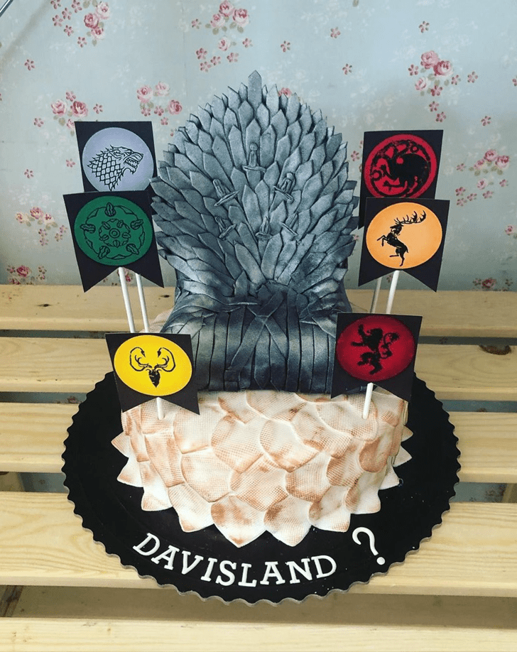 Splendid Game of Thrones Cake