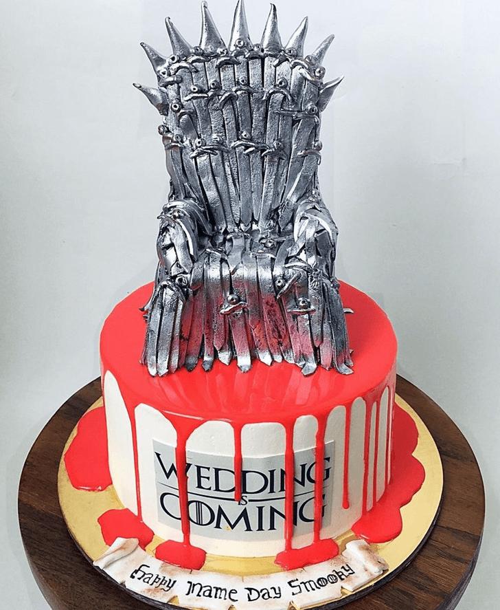 Stunning Game of Thrones Cake