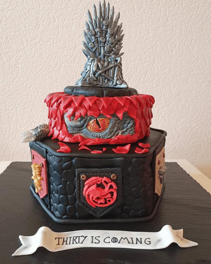 Superb Game of Thrones Cake