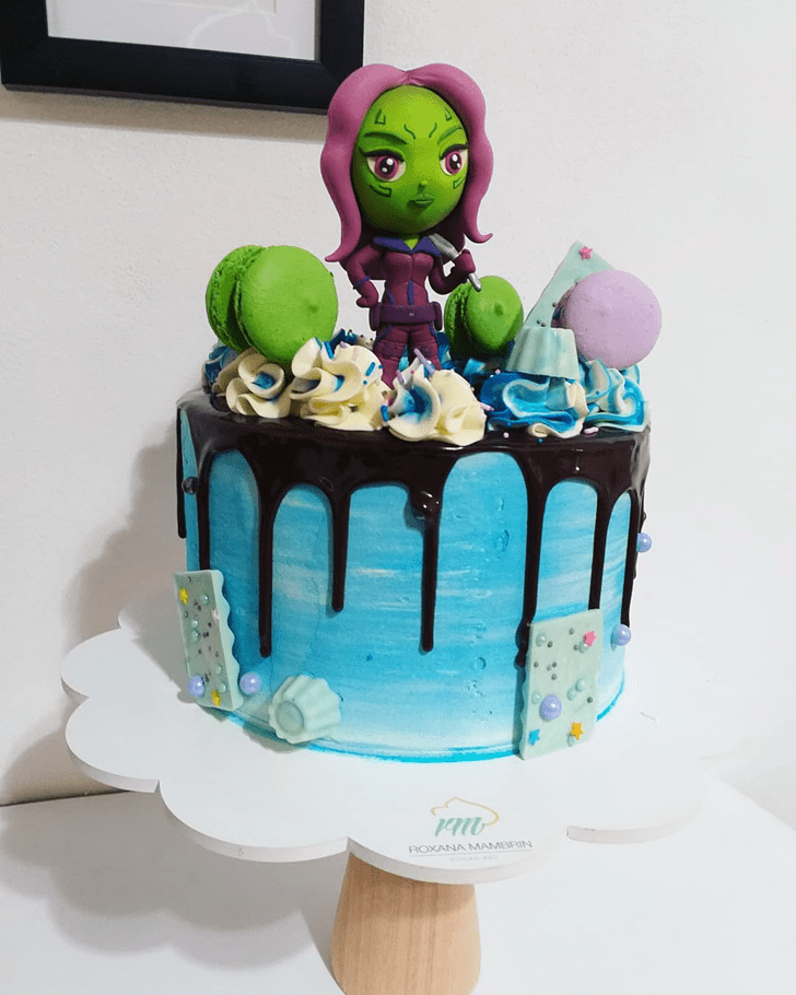 Alluring Gamora Cake