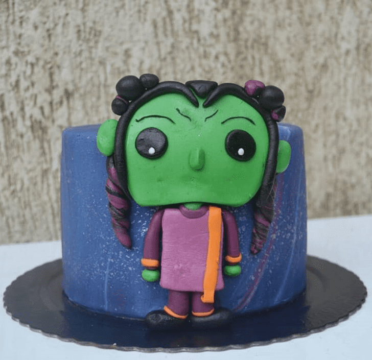Beauteous Gamora Cake