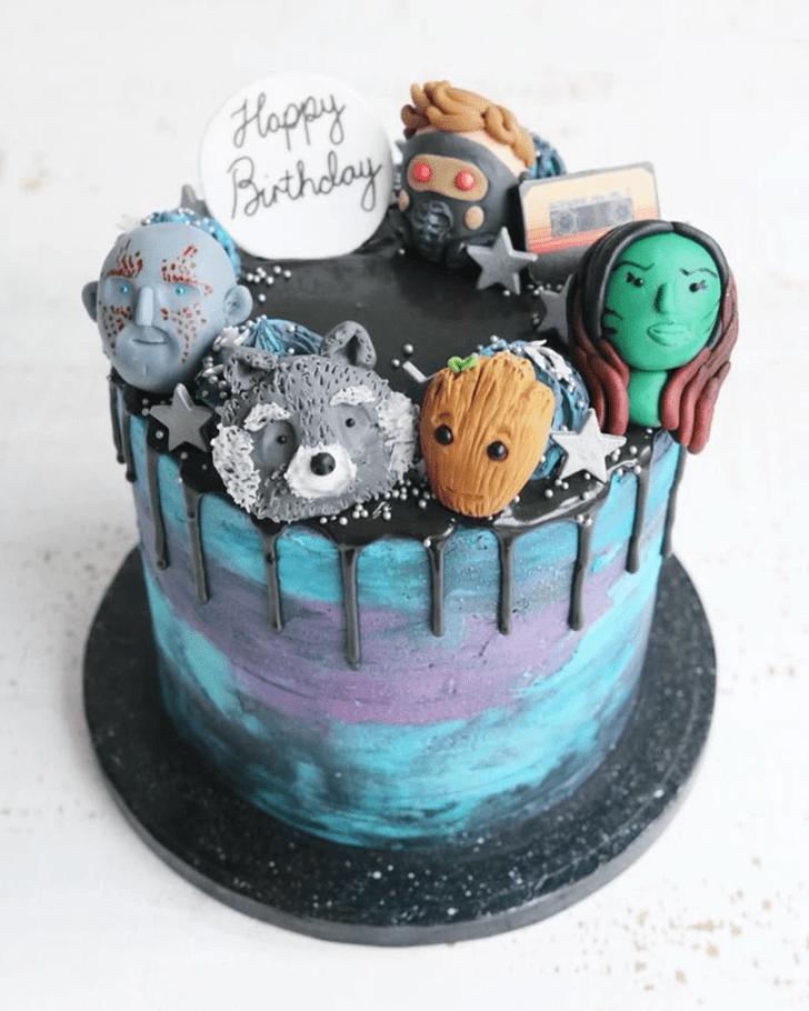 Classy Gamora Cake
