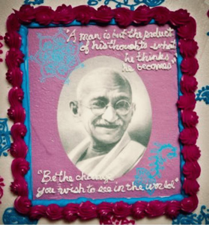 Appealing GandhiCake
