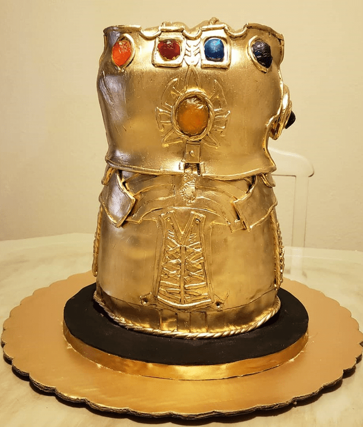 Charming Gauntlet Cake