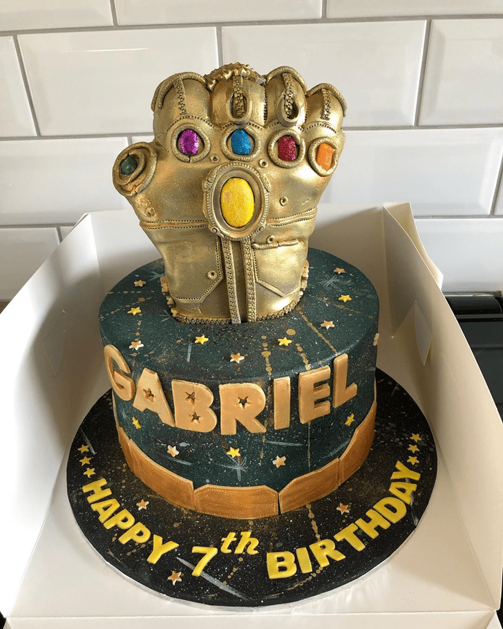 Comely Gauntlet Cake