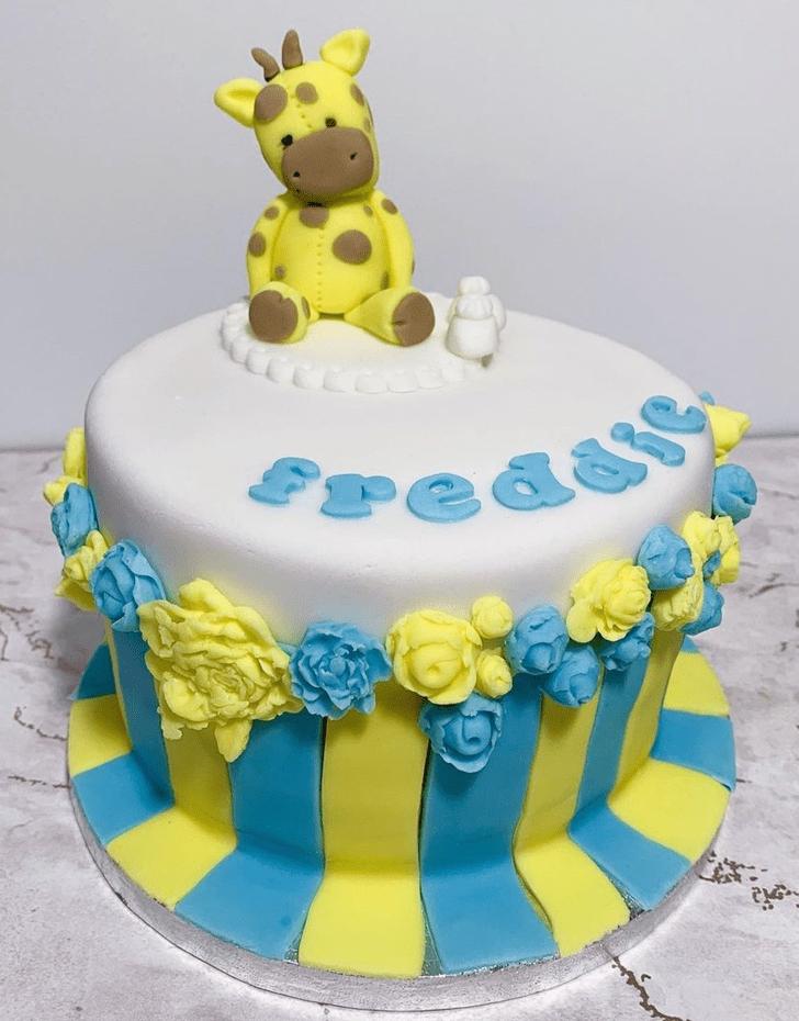 Alluring Giraffe Cake