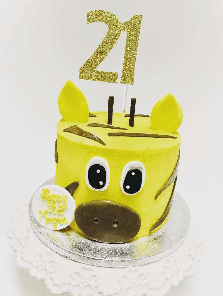 Captivating Giraffe Cake