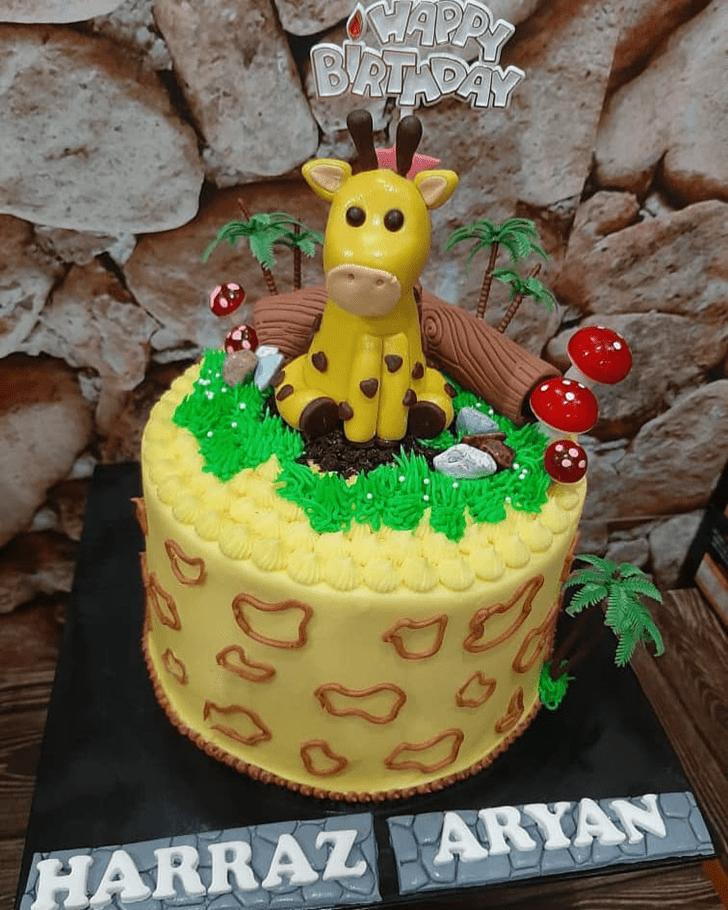 Classy Giraffe Cake