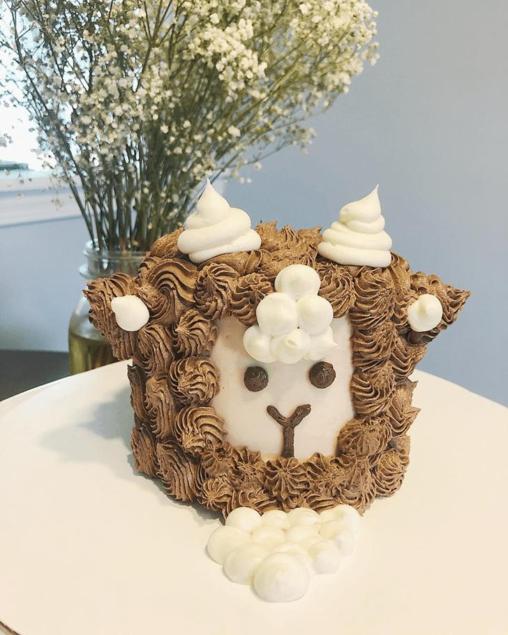 Alluring Goat Cake