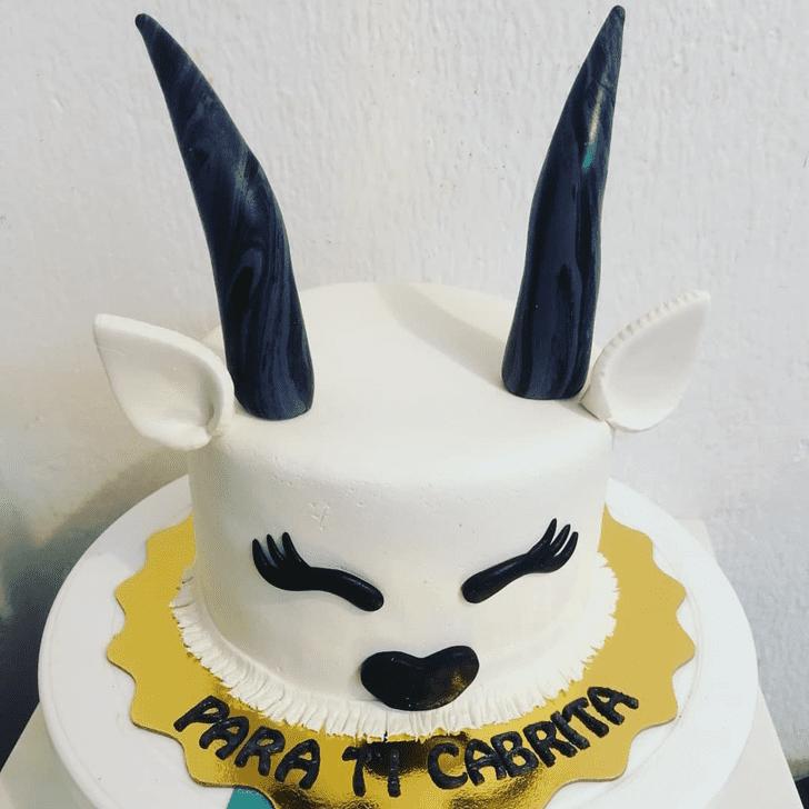 Appealing Goat Cake