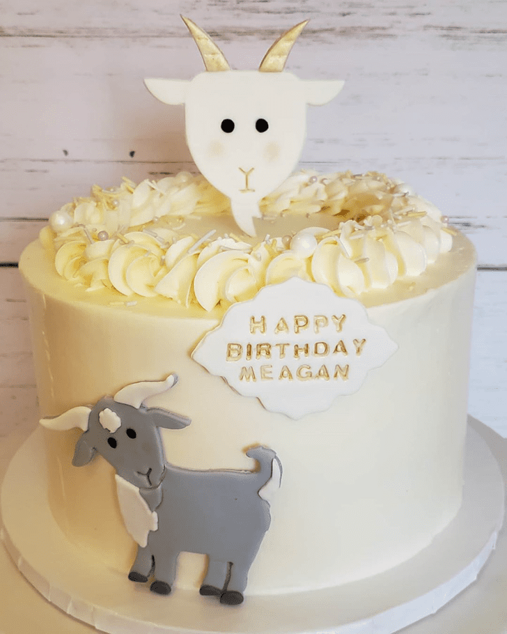 Captivating Goat Cake