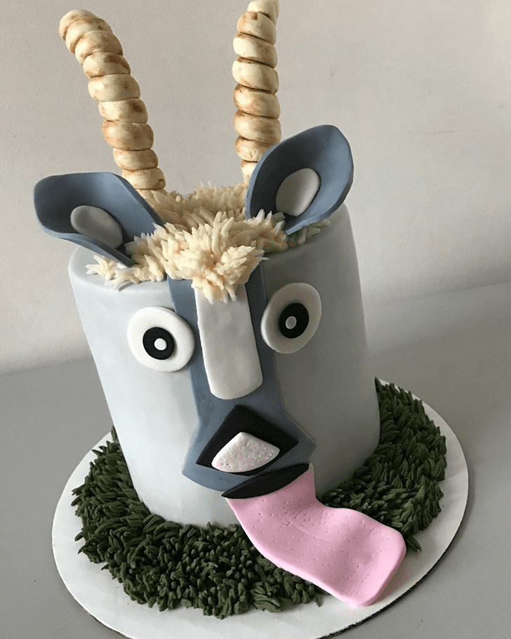 Classy Goat Cake