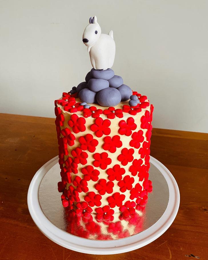 Delicate Goat Cake
