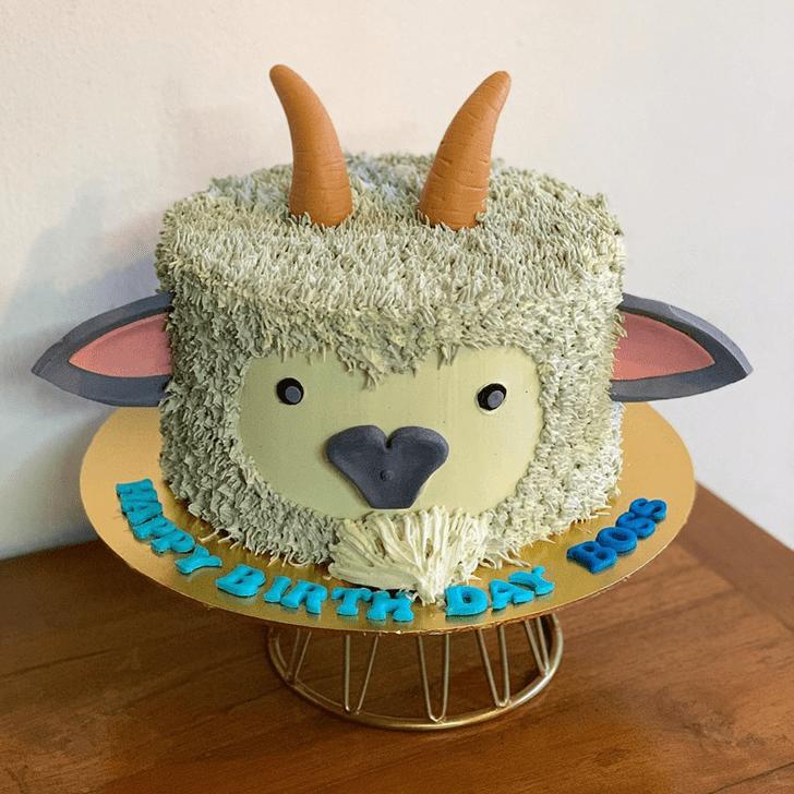 Enthralling Goat Cake