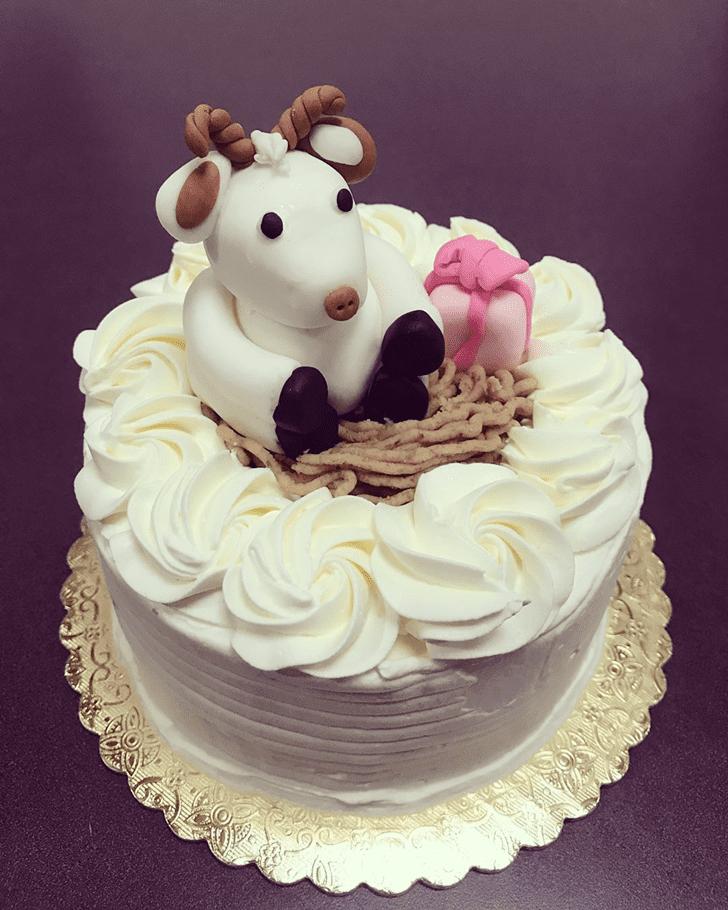 Enticing Goat Cake
