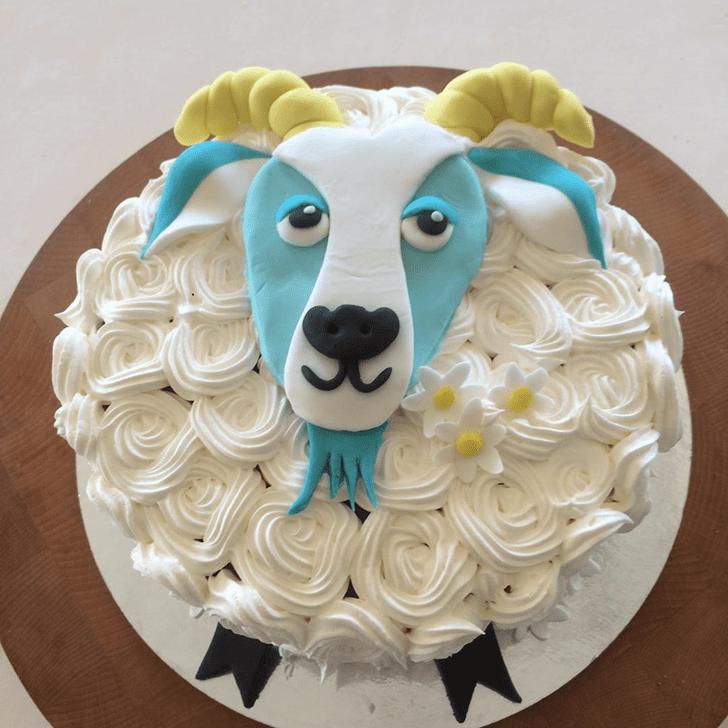 Excellent Goat Cake