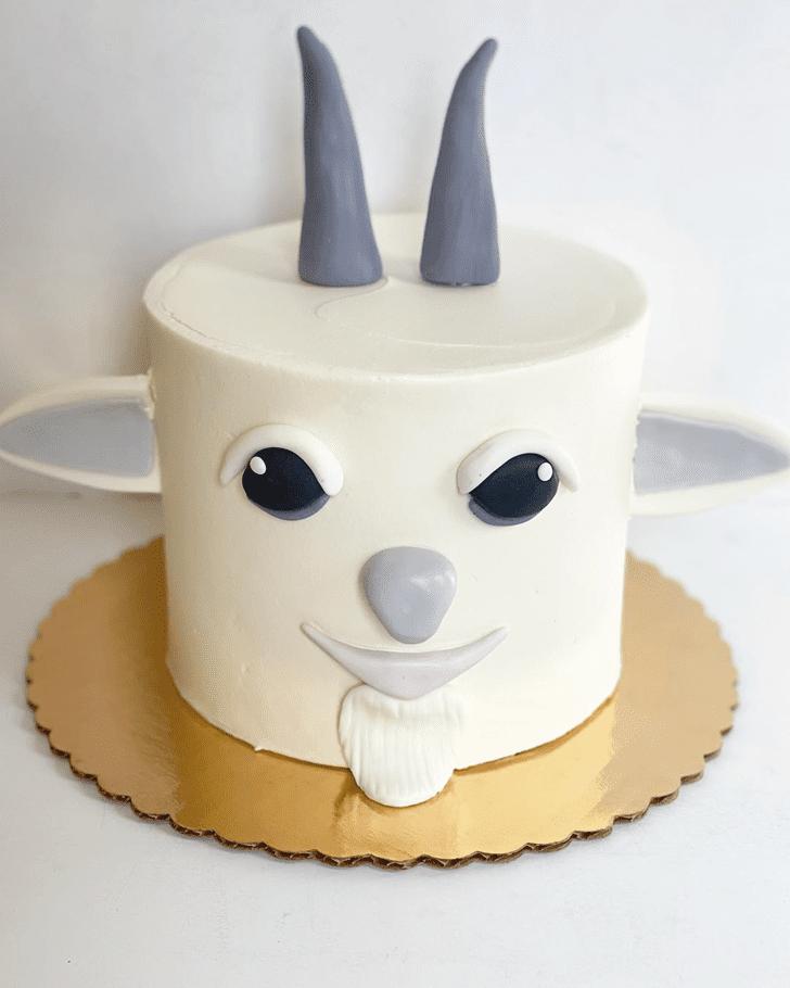 Exquisite Goat Cake
