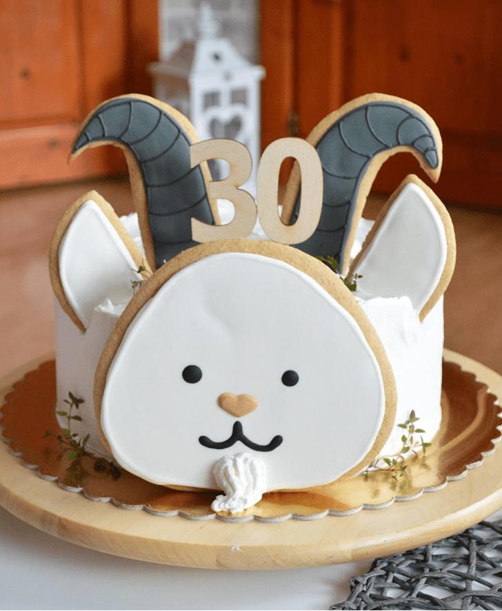 Good Looking Goat Cake