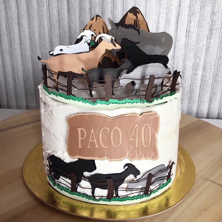 Slightly Goat Cake