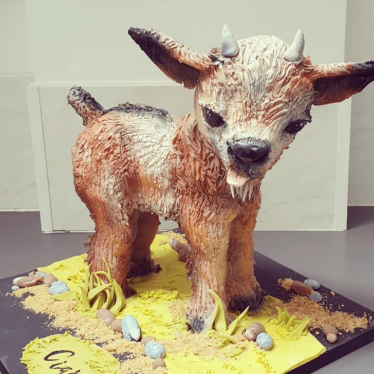 Splendid Goat Cake