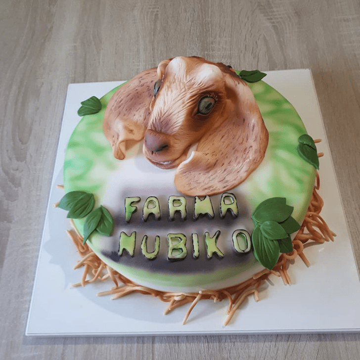 Goatful Goat Cake Design