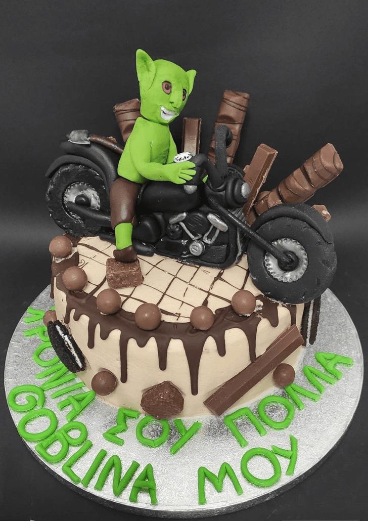 Admirable Goblin Cake Design