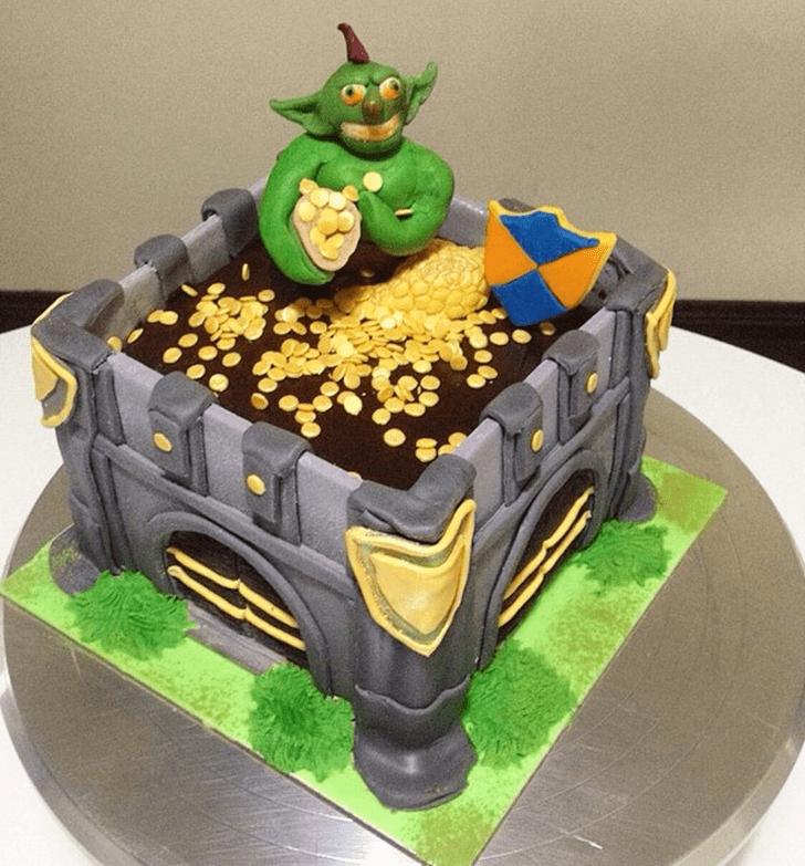 Adorable Goblin Cake
