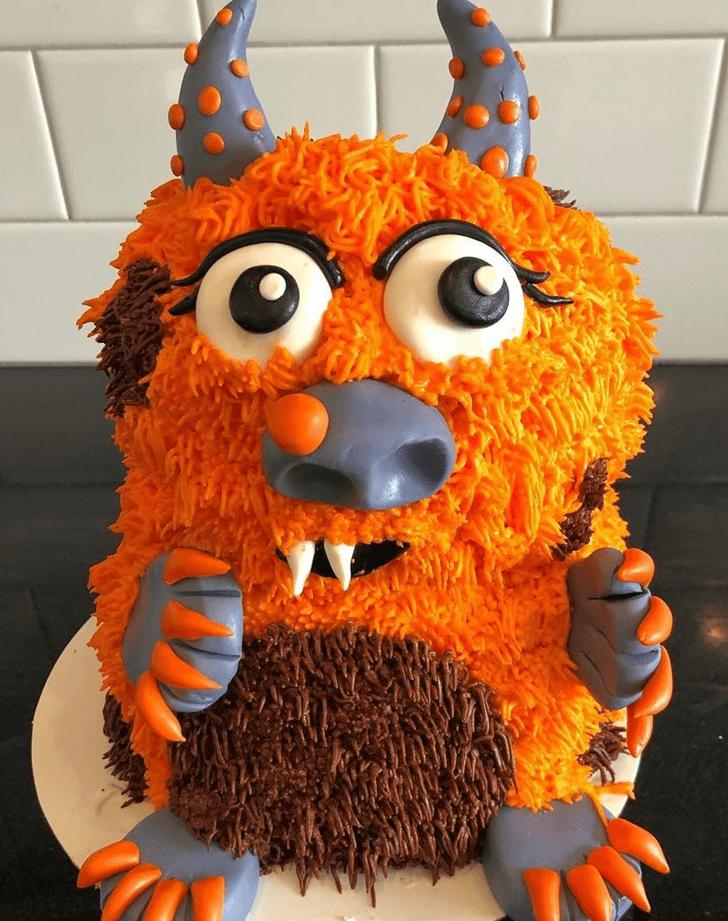 Appealing Goblin Cake