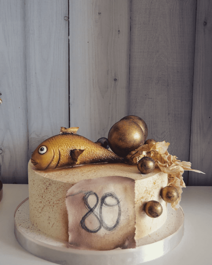 Excellent Goldfish Cake