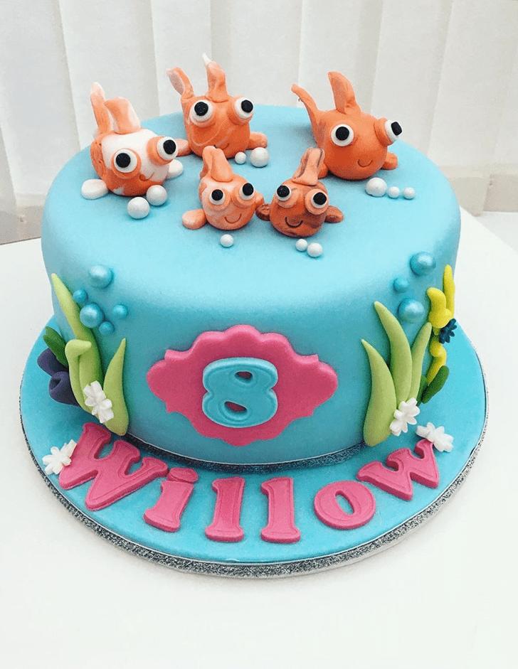 Fine Goldfish Cake