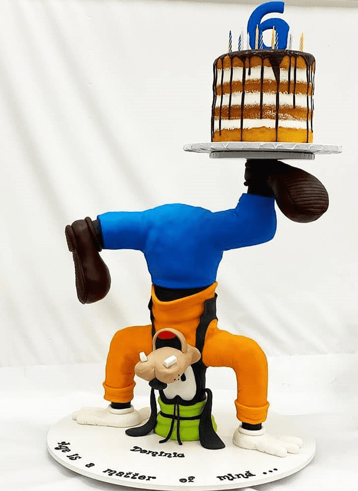 Adorable Goofy Cake