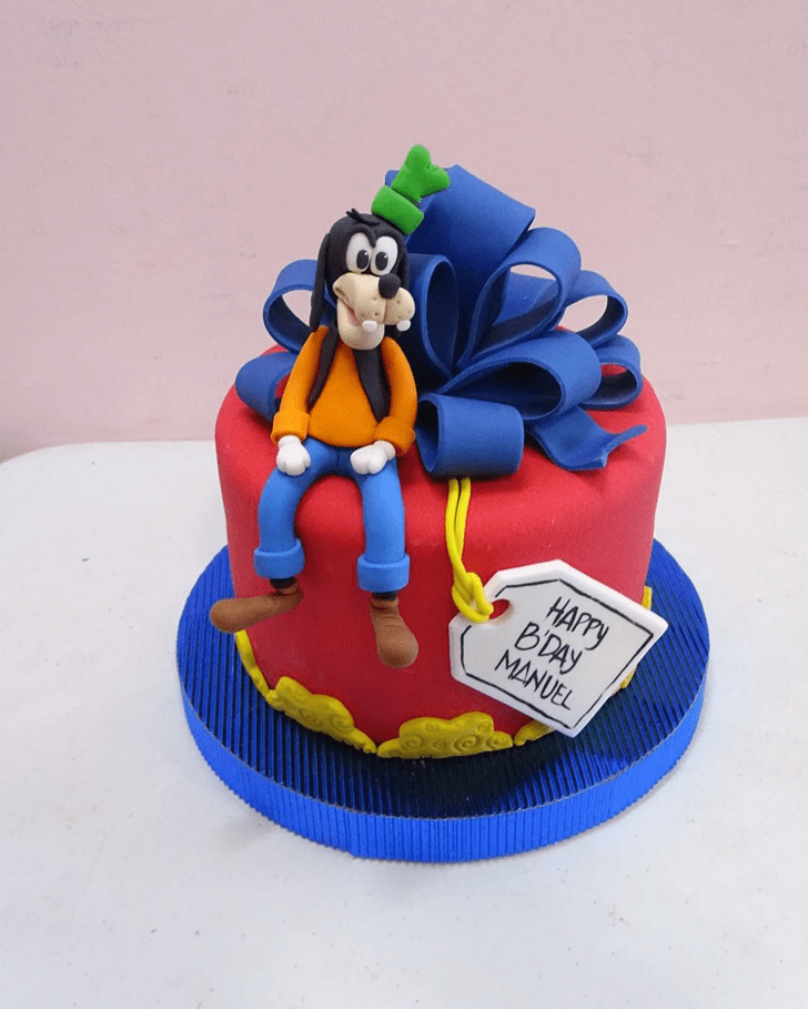 Captivating Goofy Cake