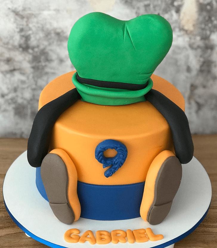 Delicate Goofy Cake