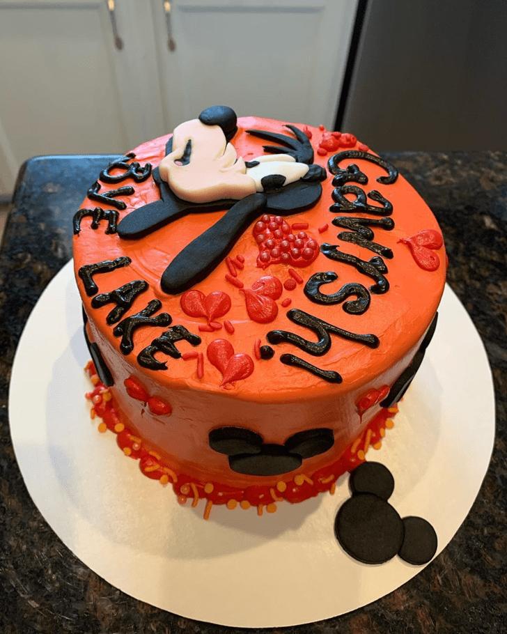 Enthralling Goofy Cake