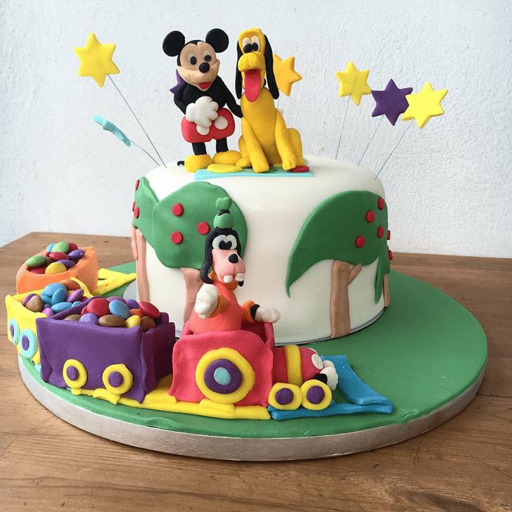 Gorgeous Goofy Cake
