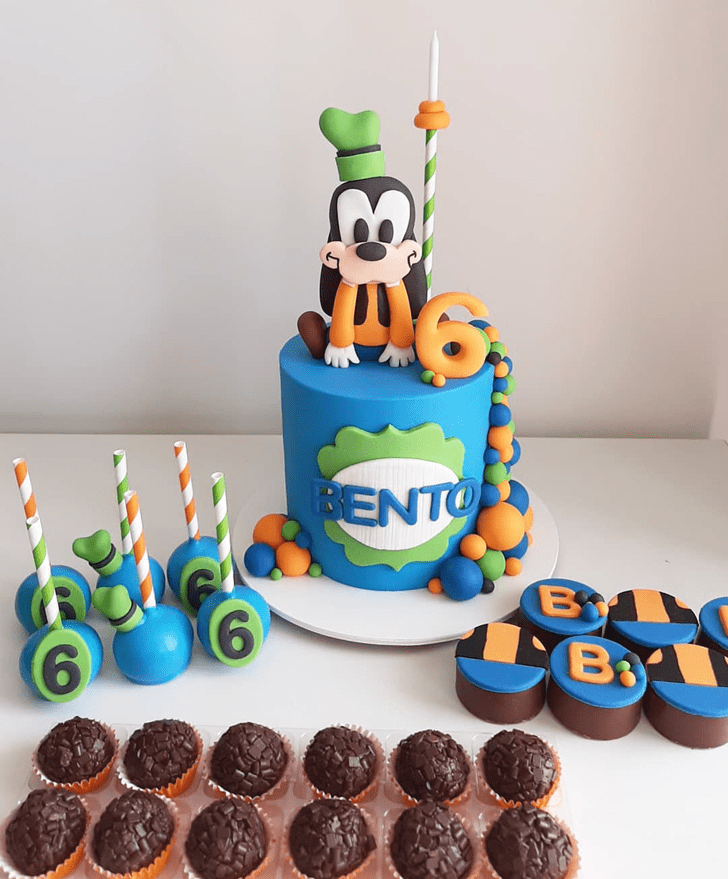 Magnetic Goofy Cake