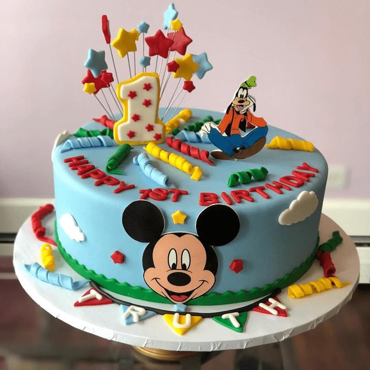 Pretty Goofy Cake