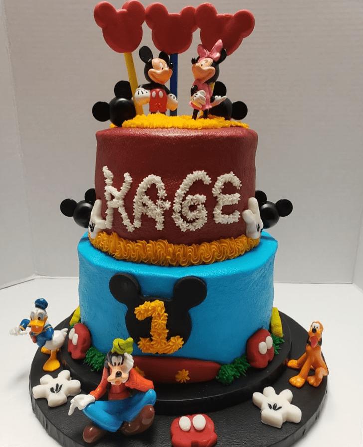 Radiant Goofy Cake